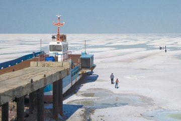 فعال شدن طوفان نمکی در اطراف دریاچه ارومیه
