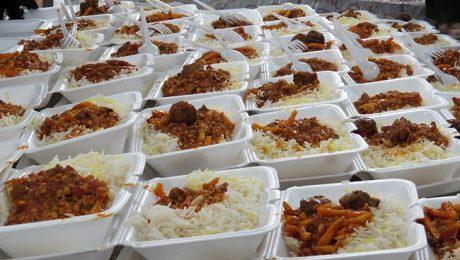 طبخ و توزیع ۲۰۰۰ پرس غذای گرم در شهرستان اهر