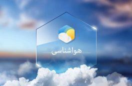 کاهش نسبی دمای هوای در آذربایجان شرقی
