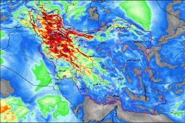 سامانه بارشی از سه شنبه وارد آذربایجان شرقی می شود