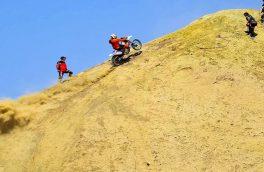 مسابقات موتورسواری اندرو شمالغرب در خداآفرین برگزار میشود